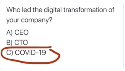 covid-19 drives digitalisation