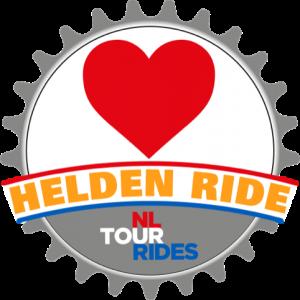 Helden in de Zorg 1000 km fietsen logo