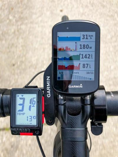 Helden Ride: Garmin metrics